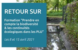 """Retour sur la formation proposée par le CAUE du Val-d'Oise """"Biodiversité et continuités écologiques dans les PLU"""""""